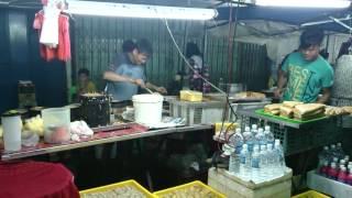 preview picture of video 'Best crispy Apam Balik in Sibu Night Market'