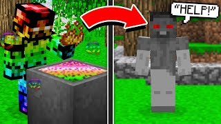 I'M TURNING INTO EVIL STEVE IN MINECRAFT! (HELP)