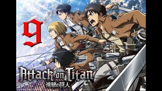 [PC GAME] Attack on titan: Wings of freedom - Full Gameplay Part 9 - 60 FPS 1080p