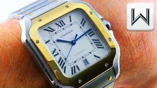2018 Cartier Santos Large SMARTLINK + QuickSwitch Santos De Cartier W2SA0006 Luxury Watch Review