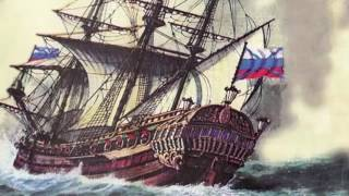 """1667 ГОД - ФРЕГАТ """"ОРЕЛ"""" Первый русский военный парусный корабль"""