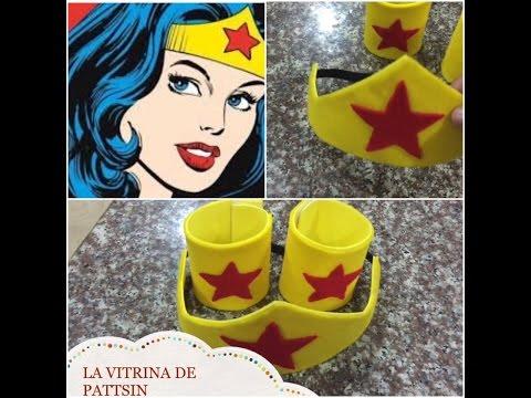 Accesorios para disfraz de mujer maravilla, Wonder Woman