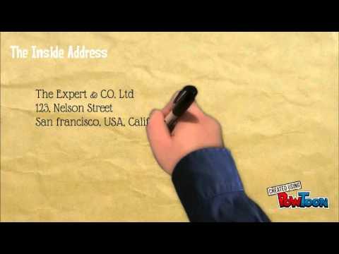 Video Prosedur Pembuatan Surat Bahasa Inggris