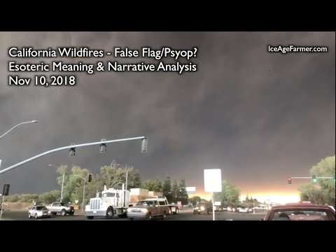 California Wildfires: Esoteric Meaning Decoded   ice age farmer