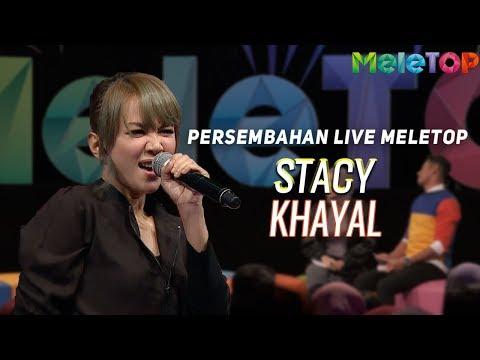 Stacy - Khayal | Persembahan Live MeleTOP | Nabil & Amelia Henderson