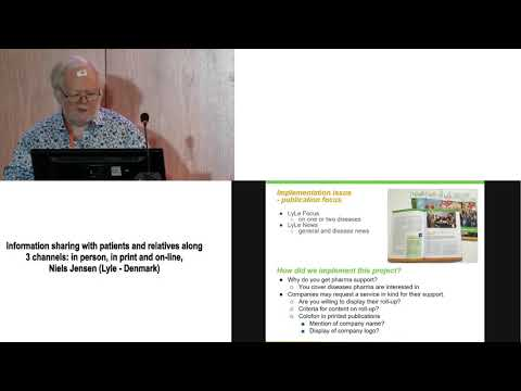1 Information sharing with patients and relatives along 3 channels Niels Jensen