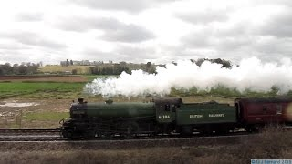 preview picture of video '61306 Mayflower at Powderham on the Cathedrals Express 1 April 2015'