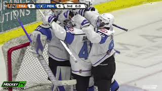 HIGHLIGHTS: Trail Smoke Eaters @ Penticton Vees – April 8th, 2021