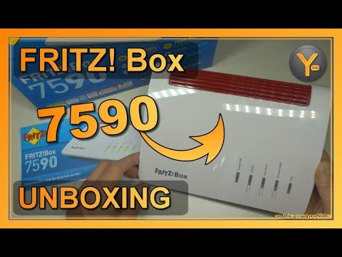 Unboxing/First Look: AVM FRITZ! Box 7590 | DSL/VDSL WLAN Router DECT Basis etc.
