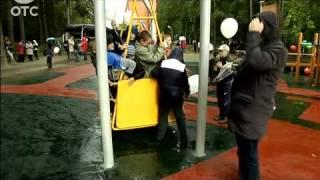 В Калининском районе открылась игровая площадка для детей с ограниченными возможностями здоровья
