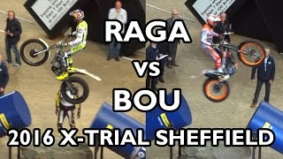 Adam Raga vs Toni Bou - Sheffield X-Trial 2016 (Round 1)