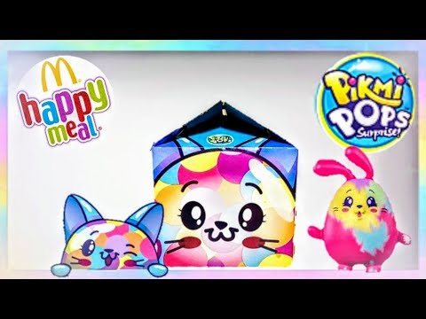 MCDONALDS PIKMI POPS HAPPY MEAL TOYS 2020