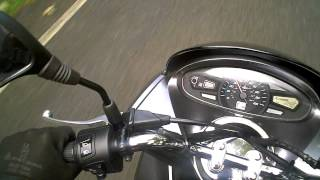 preview picture of video 'Honda PCX125 Short Review & Road Test with Comments'