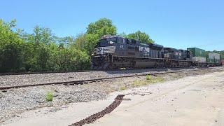 NS Train #1177 - 5.11.20, 2:59pm - Railfanning - Jersey Pike Railroad Crossing, Chattanooga, TN