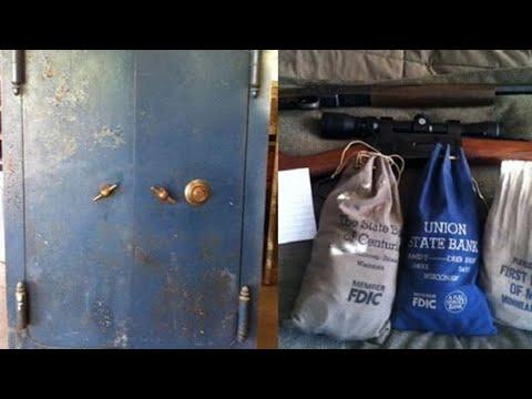 После смерти бабушки наследники обнаружили в сейф в гараже