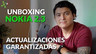 Nokia 2.3 UNBOXING Y PRIMERAS IMPRESIONES en México: Android One y GRAN batería en gama de entrada