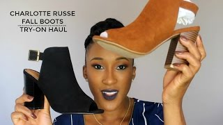 Fall Boots Try-On Haul :: From Ankle To Thigh High!