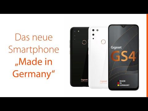"Gigaset Gigaset GS4 (64GB, Pure White, 6.30"", Dual SIM + SD, 16Mpx, 4G)"