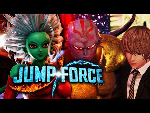 KANE AND GALENA FREE DLC Coming to JUMP FORCE!
