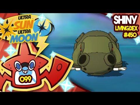 I CALLED IT! SHINY HIPPOWDON!! Quest for Shiny Living Dex #450 USUM Shiny 99