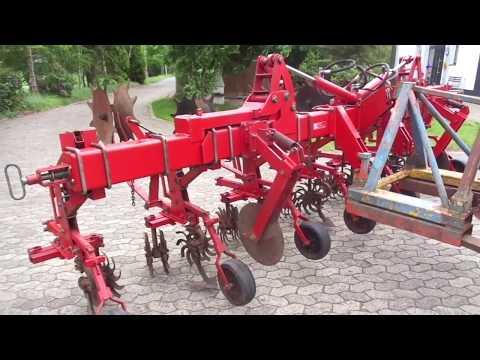 Kotte Howard Hatzenbichler Einböck Schmotzer Carree Rollkultivator6Reihig oder 8Reihig Hydr Klappung Rollhacke Rollhackgerät