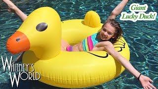It's a Giant Lucky Duck! | Whitney Bjerken