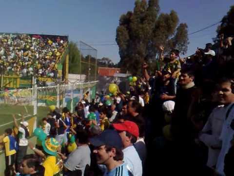 """""""Hinchada Defensa y justicia 24/10/09 frente a Quilmes"""" Barra: La Banda de Varela • Club: Defensa y Justicia"""