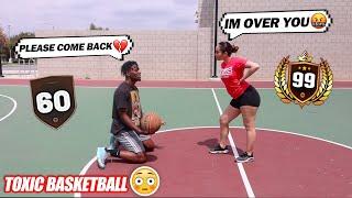 1V1 BASKETBALL vs Ex-Girlfriend! (IF I WIN WE GET BACK TOGETHER)