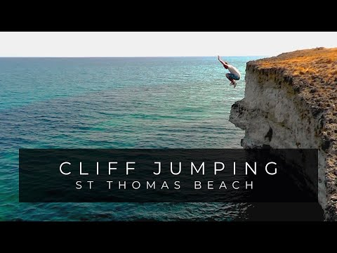Cliff Jumping στον Άγιο Θωμά (Κεφαλονιά)