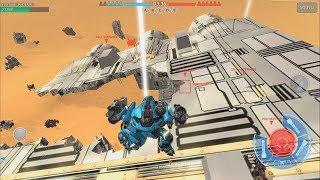 War Robots [3.2] Test Server - NEW Dreadnought desert Map Preview