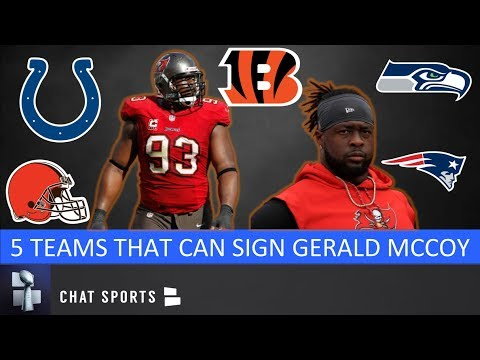 5 Teams That Could Sign Gerald McCoy In NFL Free Agency