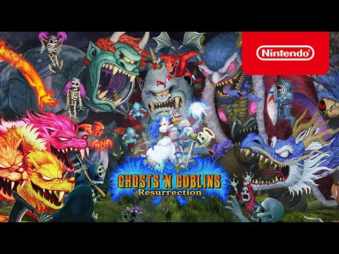 Ghosts 'n Goblins Resurrection - Weapons, Magic 'n Modes - Nintendo Switch de Ghosts 'n Goblins Resurrection
