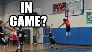 ASHTON CAN DUNK?? 5 ON 5 REC BASKETBALL GAME #7/#8