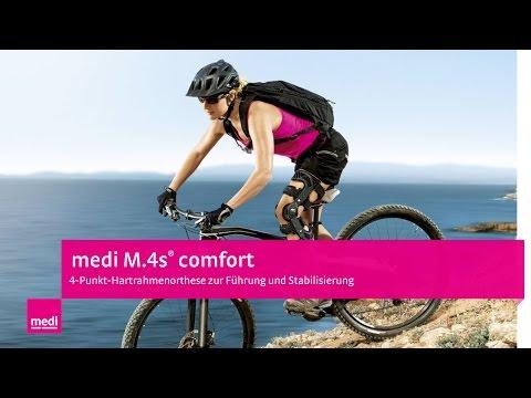 M.4s® comfort Knieorthese – Anleitung für Anwender