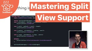 Mastering Split View Support, Jeroen Bakker (English)
