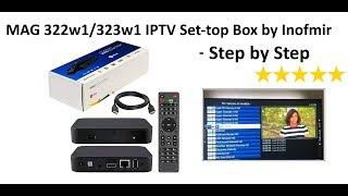 MAG 322w1/322w1 IPTV Set-top Box Setup