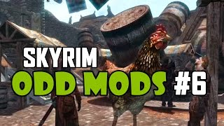 Skyrim Odd Mods #6 - SNAILS AND SLUGS