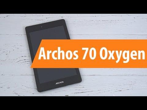 Распаковка Archos 70 Oxygen / Unboxing Archos 70 Oxygen
