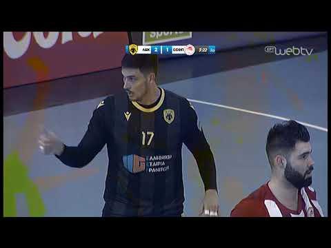 Χάντμπολ Κύπελλο «ΑΕΚ-ΟΛΥΜΠΙΑΚΟΣ» (Β' Ημιτελικός ) | 29/01/2020 | ΕΡΤ