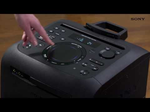 Музыкальный центр Sony MHC-GT4D видео 2