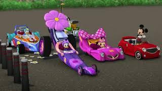 Disney Микки и Весёлые гонки -Музыкальные видео!-вып.7-Лондонские приключения|Мультфильм о машинках
