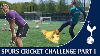 Harry Kane & Stuart Broad vs Tom Carroll & Moeen Ali | Spurs Cricket Challenge Part One