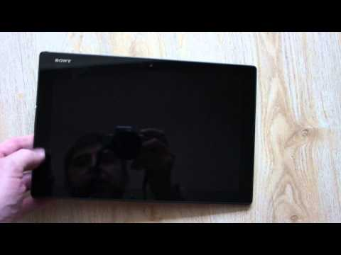 Sony Xperia Z4 Tablet Drop test