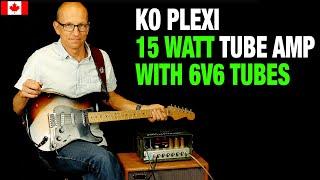KO Plexi Amp With RCA 6V6 Tubes