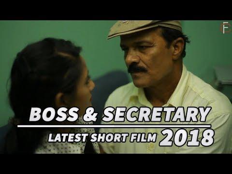 BOSS & SECRETARY SEX Latest Hindi hot Short Film/Movie 2018