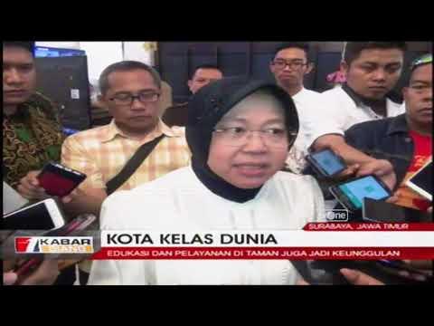 BANGGA! Surabaya Raih Predikat Kota Kelas Dunia