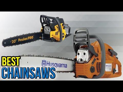 9 Best Chainsaws 2017