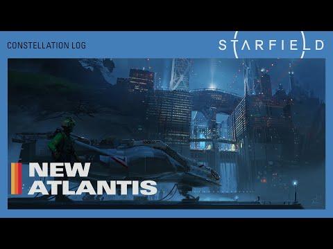 Présentation New Atlantis de Starfield