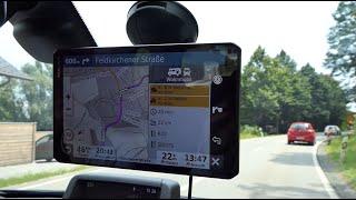 Unboxing Premium-Navigator Garmin Camper 890 MT-D für Wohnmobil/Wohnwagen – GPS-Navi - Review