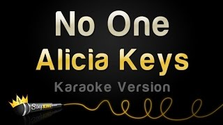 Alicia Keys - No One (Karaoke Version)